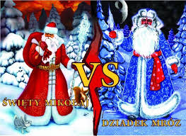 Santa Claus vs. Grandfather Frost In Poland