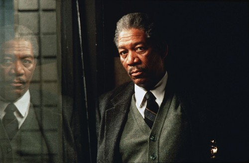 morgan Freeman hình nền entitled Se7en