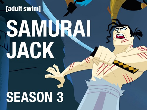 Samurai Jack Hintergrund entitled Season 3