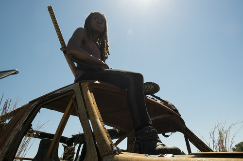 Michonne Обои titled Season 7 Promotional Episode Still