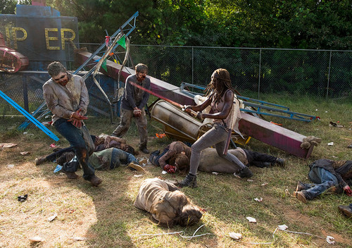 Michonne Обои entitled Season 7 Promotional Episode Still