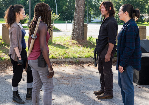 Michonne Обои called Season 8 Promotional Episode Still