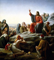 Sermon On The Mountain - christianity photo