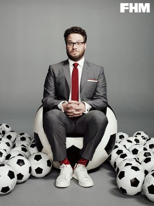 Seth Rogen - FHM Photoshoot - 2014
