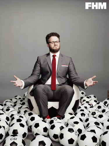 Seth Rogen Hintergrund titled Seth Rogen - FHM Photoshoot - 2014