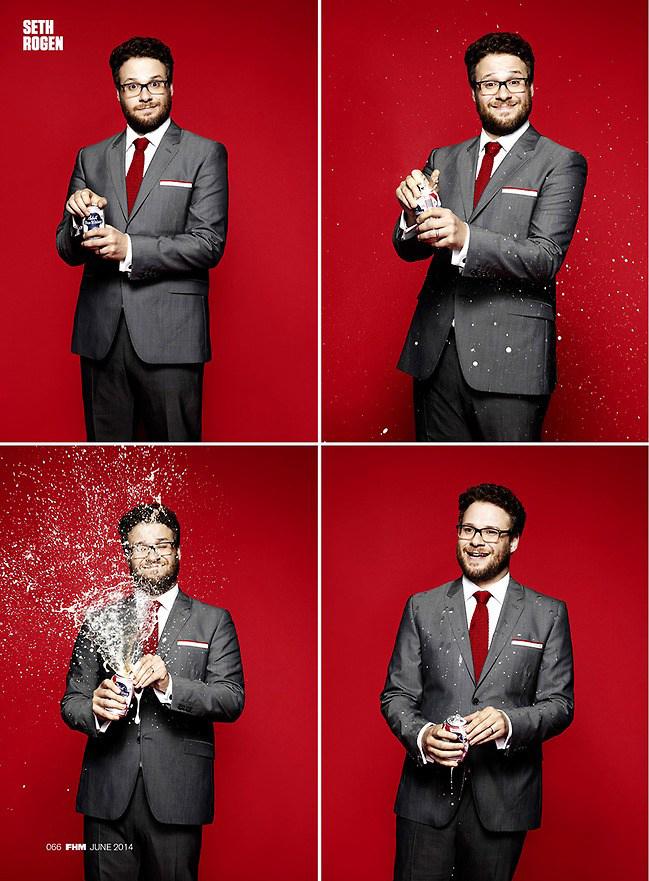 Seth Rogen - FHM Photoshoot - 2014
