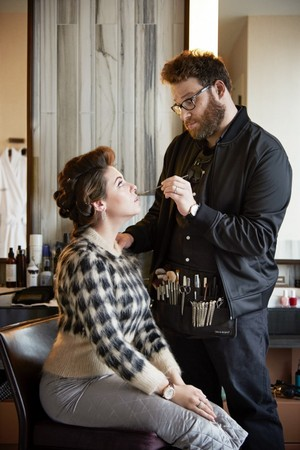 Seth Rogen and Lauren Miller - Haute Living Photoshoot - 2015