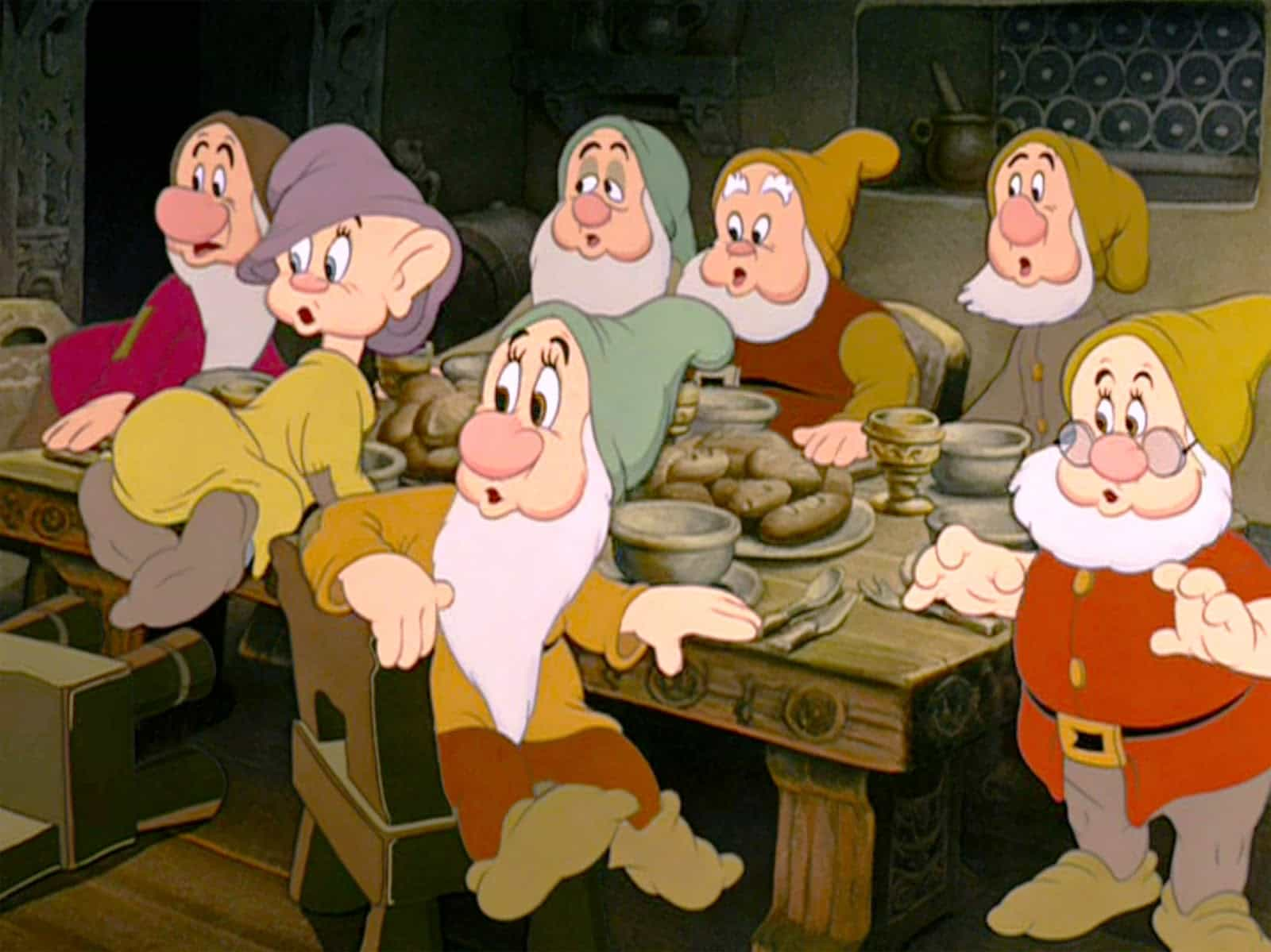 Pictures of snow white and seven dwarfs