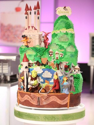 슈렉 Cake