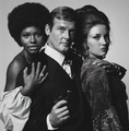 Sir Roger Moore And His Two LALD Co-Stars - james-bond photo