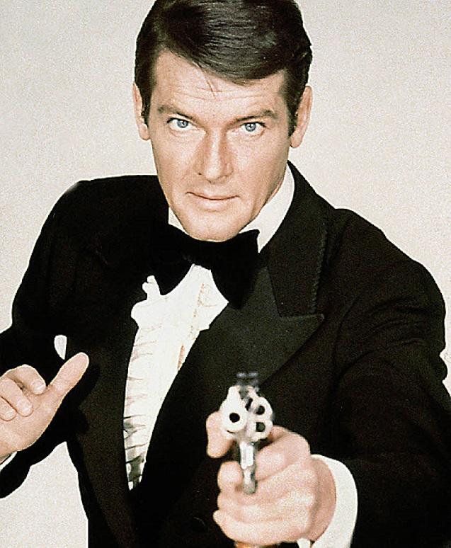 Sir Roger Moore As 007