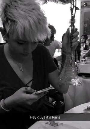 Snapchat Image Of Paris