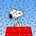 Snoopy In The Snow - snoopy icon