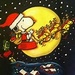 Snoopy's Sleigh - snoopy icon