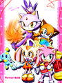 Sonic Ladys  - sonic-the-hedgehog photo