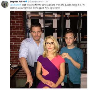 Stephen, Emily and Jack - BTS