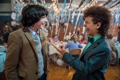 Stranger Things fondo de pantalla called Stranger Things Season 2 Behind the Scenes