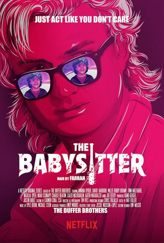 "Stranger Things 바탕화면 called Stranger Things Season 2 ""The Babysitter"" Movie Inspired Poster"