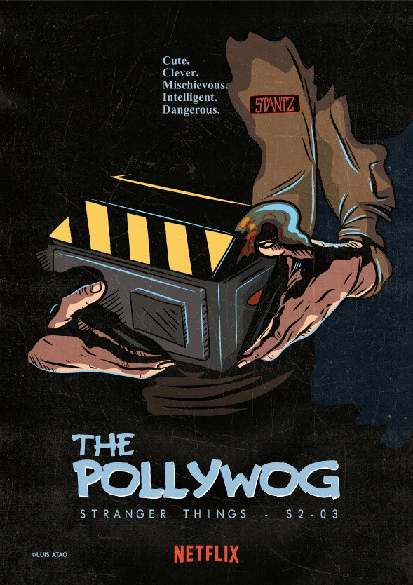 "Stranger Things ""The Pollywog"" (2x03) Fan-made Poster"