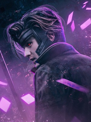Stranger Things Turned into 'X-Men' Heroes and Villains - Steve as Gambit
