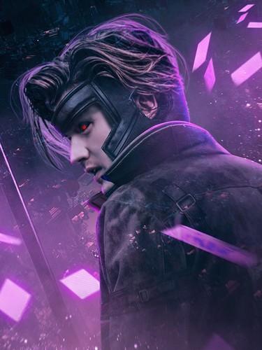 Stranger Things fondo de pantalla entitled Stranger Things Turned into 'X-Men' heroes and Villains - Steve as Gambit