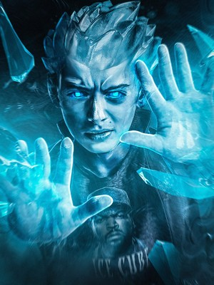 Stranger Things Turned into 'X-Men' ヒーローズ and Villains - Will as Iceman