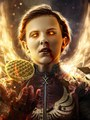 Stranger Things Turned into 'X-Men' ヒーローズ and Villains - Eleven as Phoenix
