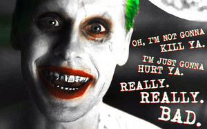 Suicide Squad - The Joker karatasi la kupamba ukuta - I'm Not Gonna Kill Ya