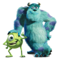 Sulley and Mike - monsters-inc photo
