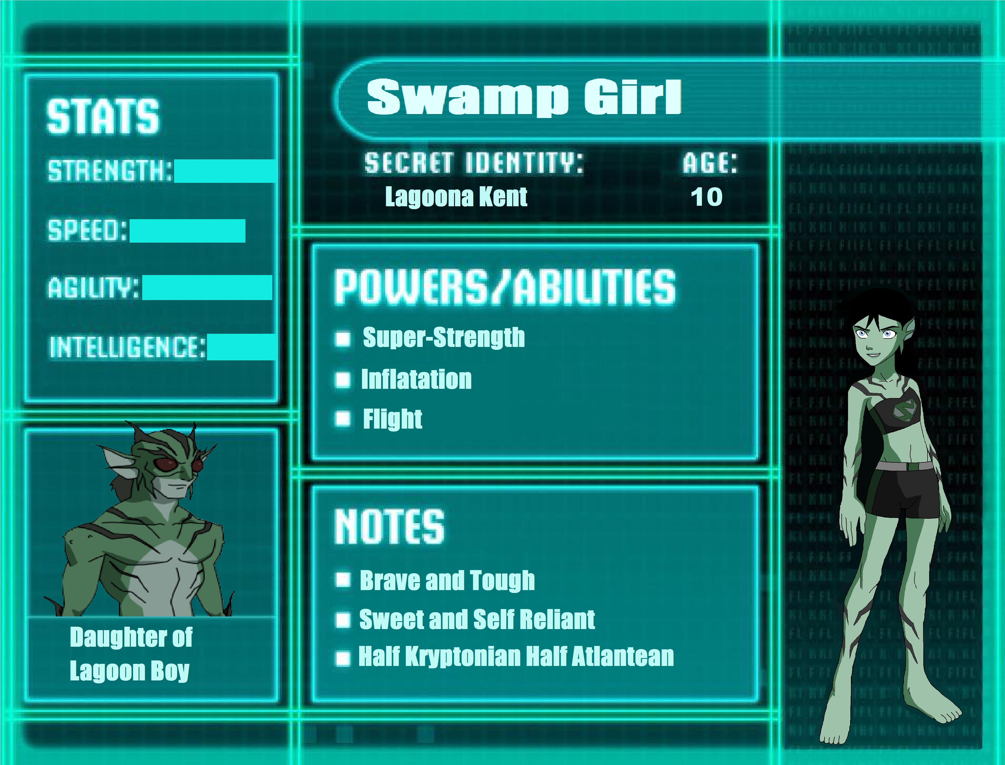 Swamp girl s stat