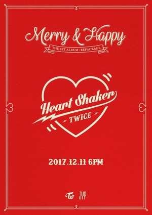 TWICE releases teaser for 1st album repackage 'Heart Shaker'