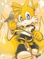 Tails cosplay as Len Kagamine - sonic-the-hedgehog photo