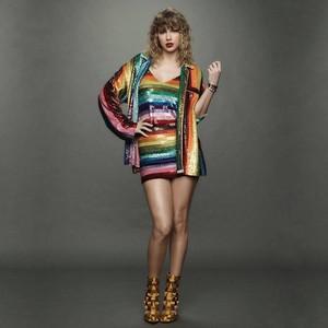 Taylor schnell, swift regenbogen DRESS
