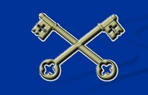 The 2 Keys-The Holy See (The Vatican City) Symbol