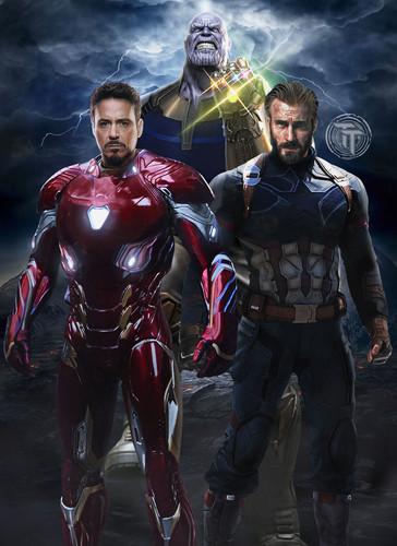 avengers infinity war 1 2 wallpaper titled the avengers infinity war - The Avengers