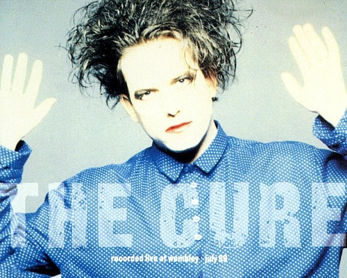 Robert Smith wallpaper titled The Cure Cover Artwallpaper9