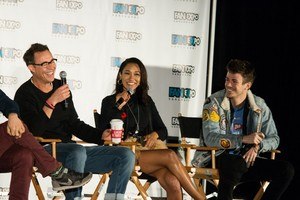 The Flash Cast at FanExpo Vancouver on 11/11/17
