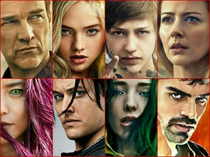The Gifted Character Posters