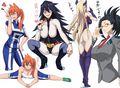 The Girls from My Hero Academia