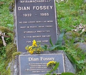 The Gravesite Of Dian Fossey