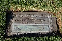 The Gravesite Of Donna Reed