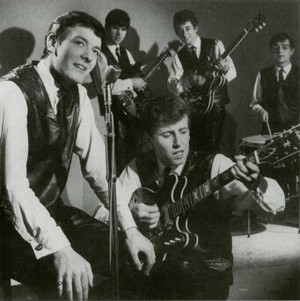 The Hollies in 1962 with Don Rathbone