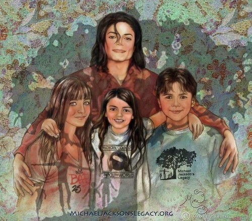 Paris Jackson fond d'écran entitled The Jackson Family