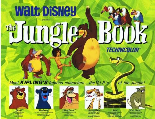 The Jungle Book Обои titled The Jungle Book