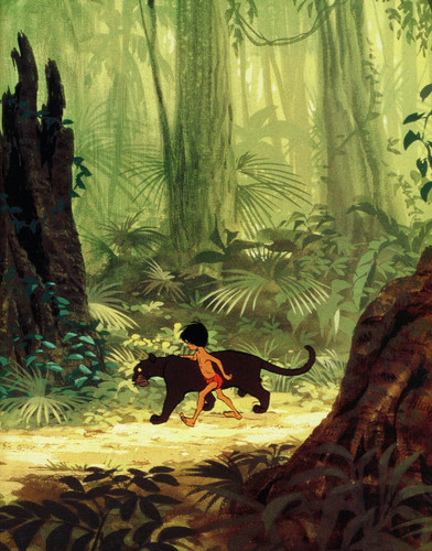 The Jungle Book kertas dinding called The Jungle Book