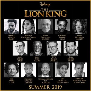 The Lion King LA Cast