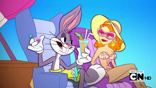 The Looney Tunes প্রদর্শনী দেওয়ালপত্র entitled The Looney Tunes প্রদর্শনী
