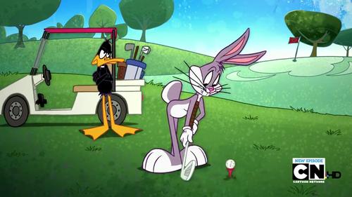 The Looney Tunes Zeigen Hintergrund entitled The Looney Tunes Zeigen