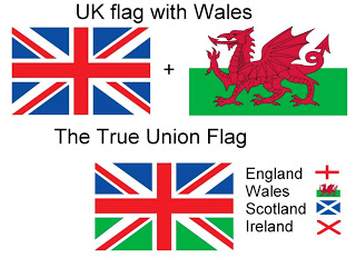 The True Union Flag (With Welsh Flag Incorporated)