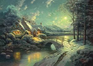 Thomas Kinkade क्रिस्मस